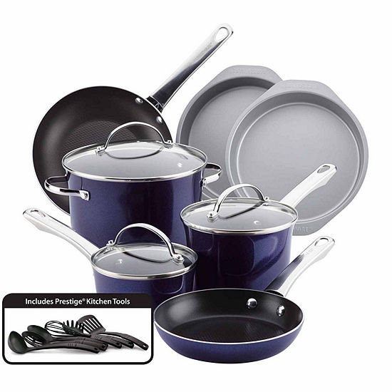 Farberware 16-pc. Aluminum Non-Stick Cookware Set