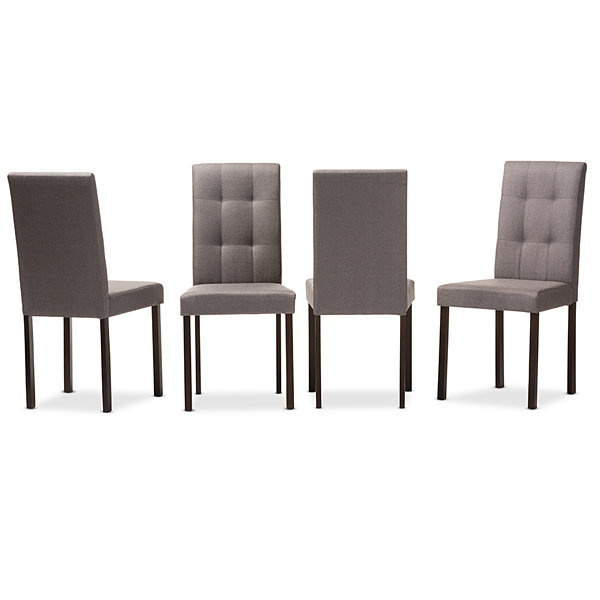 Baxton Studio Andrew Modern And Contemporary 4-pc. Side Chair