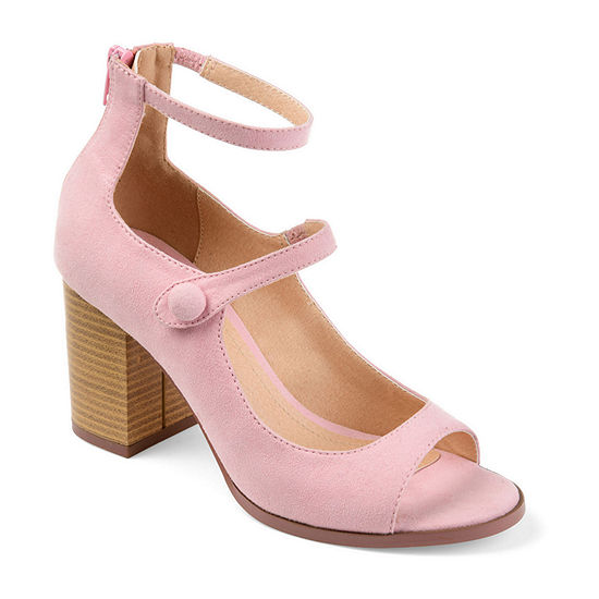 Journee Collection Womens Hipsy Heeled Sandals