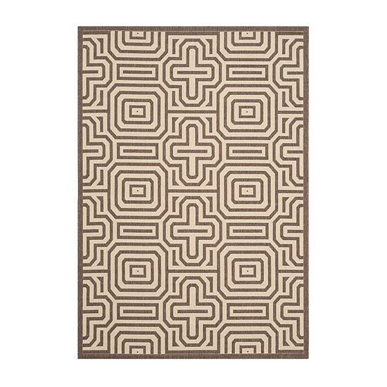 Safavieh Klara Geometric Rectangular Indoor/Outdoor Rugs