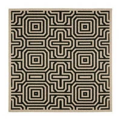 Safavieh Klara Geometric Square Indoor/Outdoor Rugs