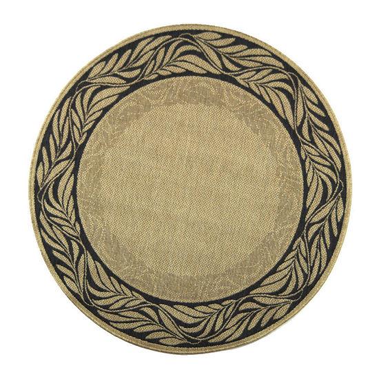 Safavieh Salena Oriental Round Indoor/Outdoor Rugs