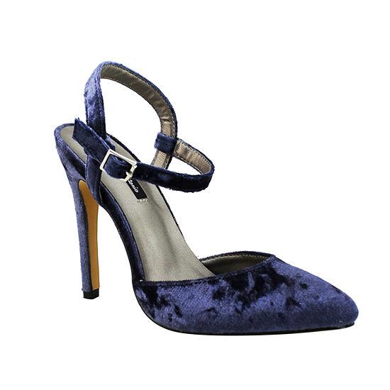Michael Antonio Womens Liric-Vel Pumps Stiletto Heel