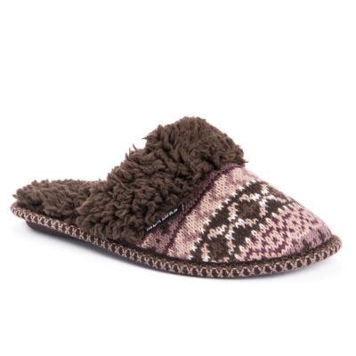 Muk Luks Frida Scuff Slippers Slip-On Slippers