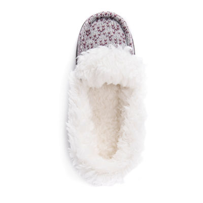 Muk Luks Womens Anais Moccasin Slippers