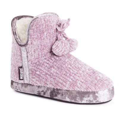 Muk Luks Womens Pennley Womens Bootie Slippers