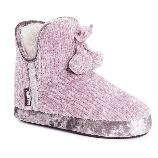 Muk Luks Pennley Womens Bootie Slippers