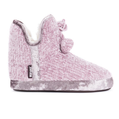 Muk Luks Womens Pennley Bootie Slippers