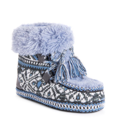 Muk Luks Womens Moxie Womens Bootie Slippers