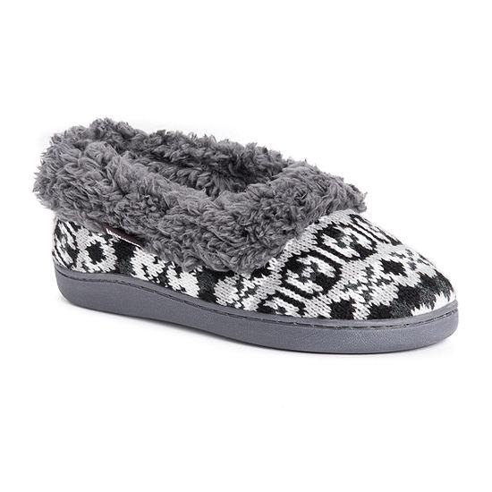 Muk Luks Becky Full Foot Womens Slip-On Slippers