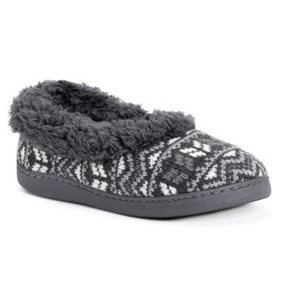 Muk Luks Womens Brinley Slip-On Slippers