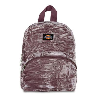 Dickies Crushed Velvet Mini Backpack