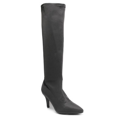 Love And Liberty Women's High Heel Knee Boot Pull-on