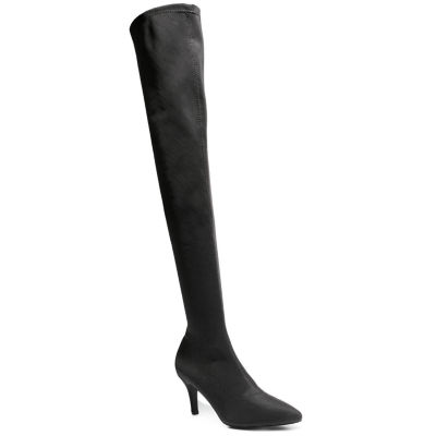Love And Liberty Womens Over the Knee Boots Stiletto Heel Pull-on