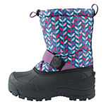 Northside Girls Frosty Snow Boots Fleece Lined Insulated Hook and Loop