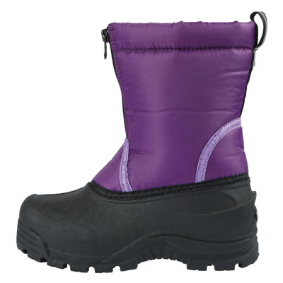 Northside Toddler Girls Icicle Waterproof Fleece Lined Insulated Snow Boots Zip