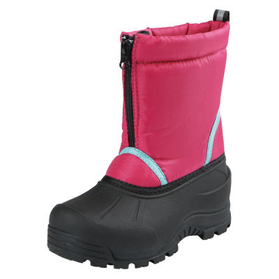 Northside Toddler Girls Icicle Waterproof Fleece Lined Insulated Snow Boots Zip