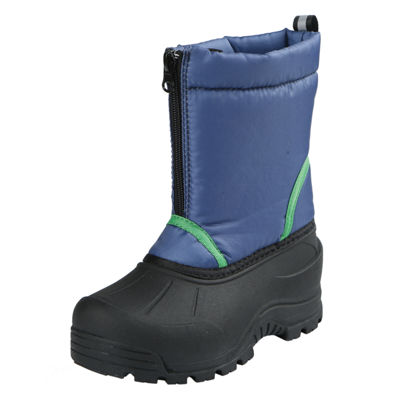 Northside Boys Icicle Snow Boots Fleece Lined Insulated Hook and Loop