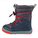 Northside Toddler Boys Toboggan Water Resistant Fleece Lined Snow Boots