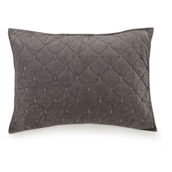 Ayesha Curry Cotton Velvet Pillow Sham