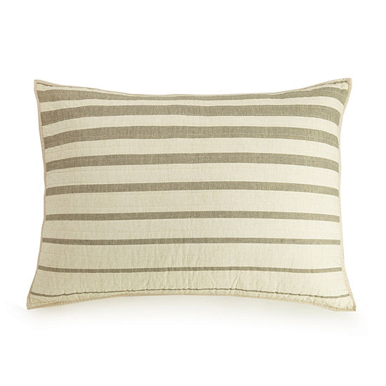 Ayesha Curry Varigated Stripe Pillow Sham