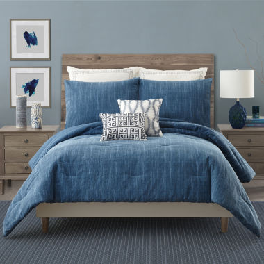 Ayesha Curry Rhapsody In Blue 3-pc. Comforter Set