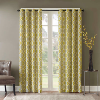 Madison Park Grommet-Top Curtain Panel