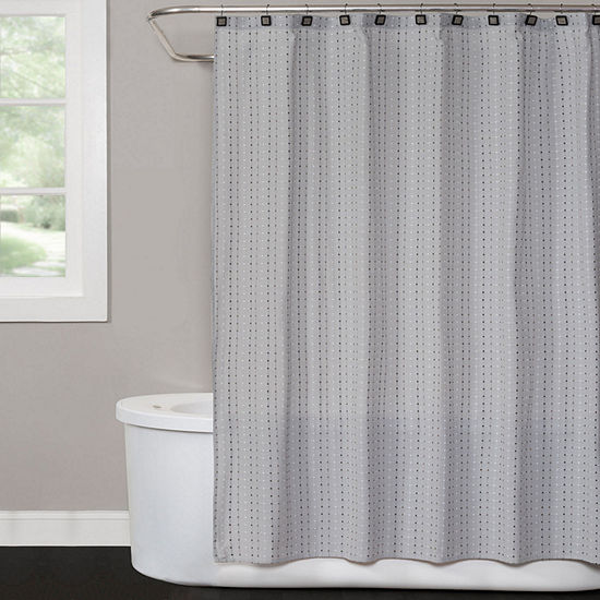 Saturday Knight Hopscotch Shower Curtain
