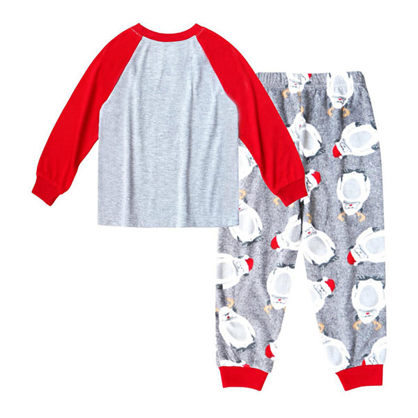 Holiday #Famjams Yeti Family Boys 2-pc. Pant Pajama Set Toddler