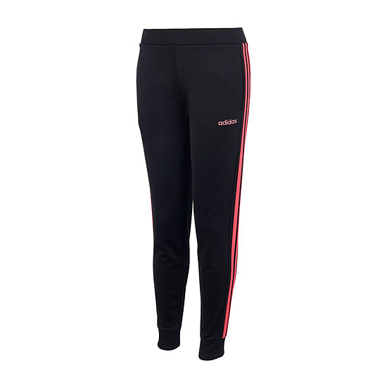 adidas - Big Kid Girls Mid Rise Tapered Jogger Pant