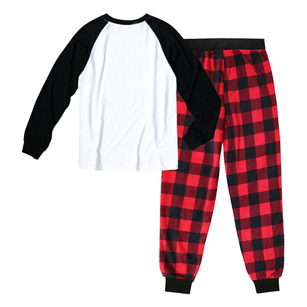 Holiday #Famjams Bear Buffalo Family Mens 2-pc. Pant Pajama Set