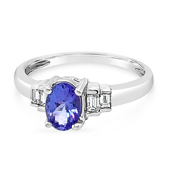 LIMITED QUANTITIES! Le Vian Grand Sample Sale™ Ring featuring Blueberry Tanzanite® set in PLT