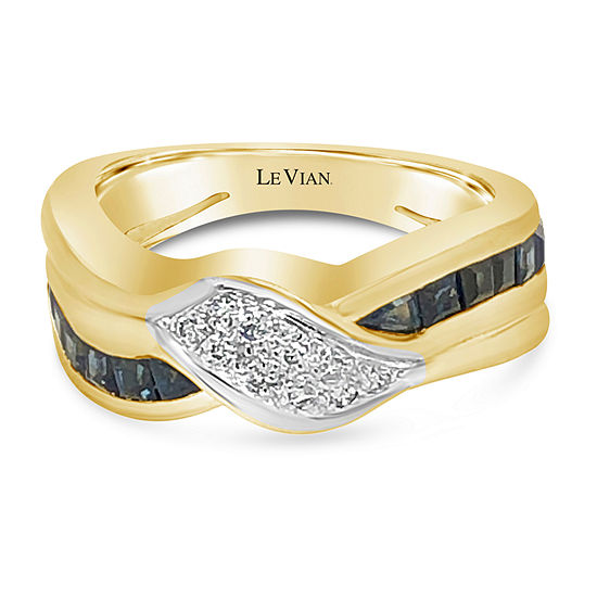LIMITED QUANTITIES! Le Vian Grand Sample Sale™ Ring featuring Blueberry Sapphire™ set in 18K
