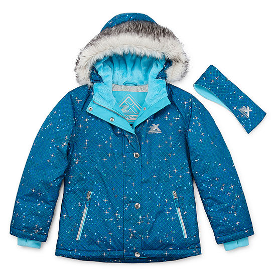 Zeroxposur Snowboard Big Girls Heavyweight Ski Jacket