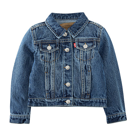 Levi's Girls Denim Jacket-Toddler