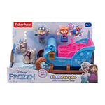 Fisher-Price Frozen Kristoff'S Sleigh By Little People