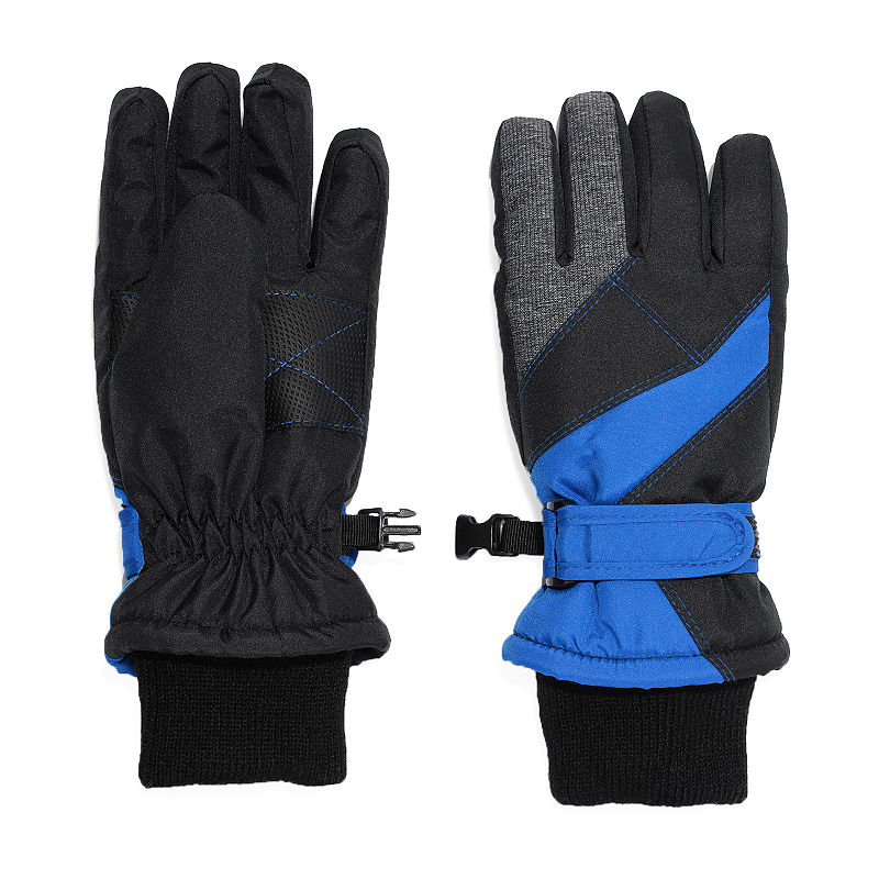 Igloos Boys Cold Weather Gloves Preschool / Big Kid, Size Small-medium, Blue -  42440400174