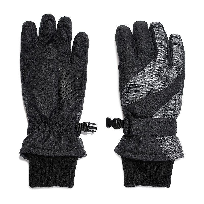 Igloos Boys Cold Weather Gloves Preschool / Big Kid, Size X-small-small, Black -  42440410166