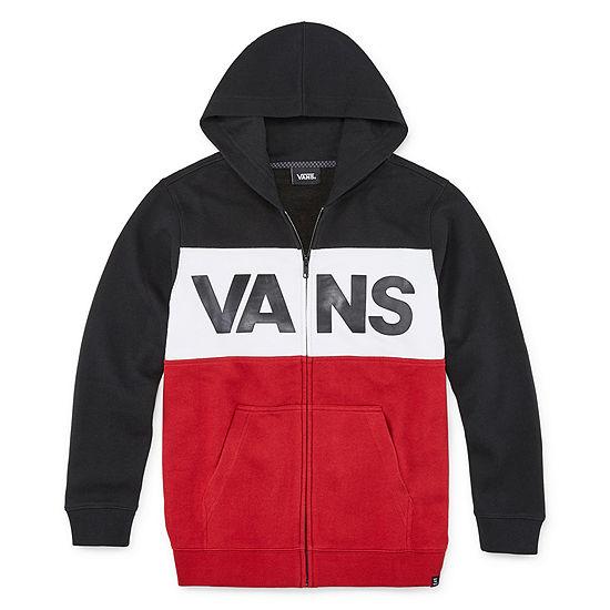 Vans Little Kid / Big Kid Boys Fleece Hooded Lightweight Jacket