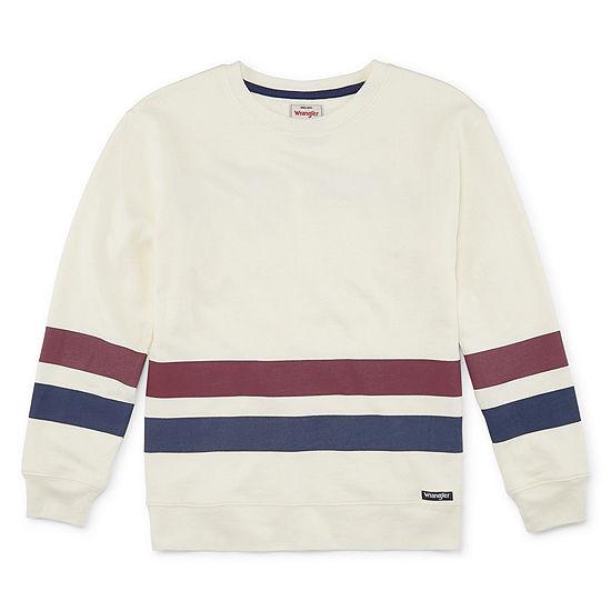 Wrangler Big Boys Long Sleeve Sweatshirt