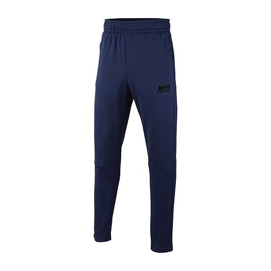 Nike Boys Performance Fleece Cinched Pull-On Pants - Big Kid