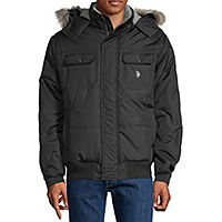 US Polo Assn. Men's Microfiber Midweight Quilted Jacket