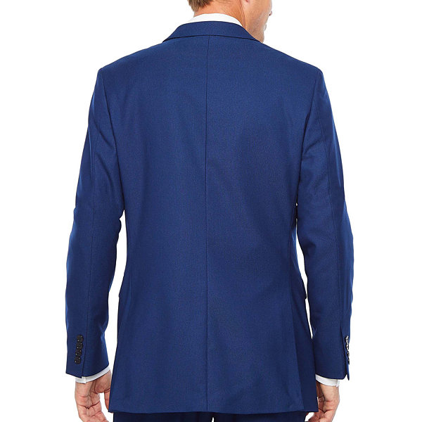 JF J.Ferrar Striped Slim Fit Stretch Suit Jacket