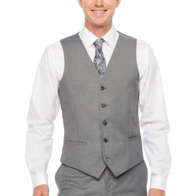 JF J.Ferrar Ultra Comfort Slim Fit Suit Vest