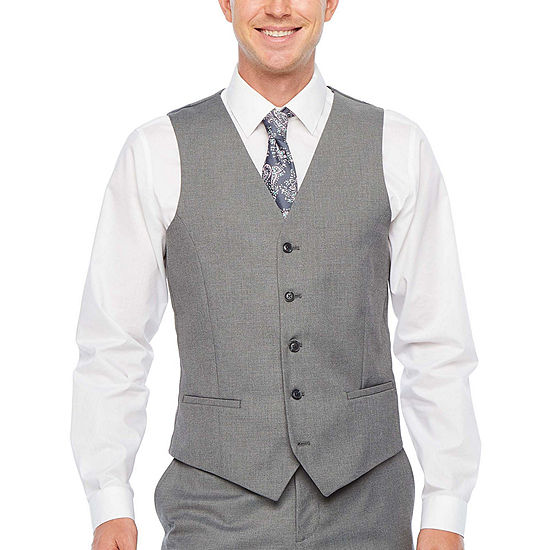 JF J.Ferrar Ultra Comfort Stretch Slim Fit Suit Vest