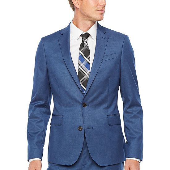 JF J.Ferrar Ultra Comfort Mens Super Slim Fit Suit Jacket