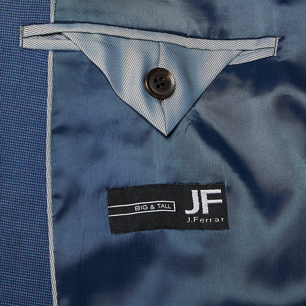 JF J.Ferrar-Big and Tall Ultra Comfort Slim Fit Suit Jacket
