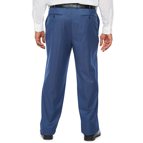 JF J.Ferrar - Big and Tall Ultra Comfort Slim Fit Stretch Suit Pants