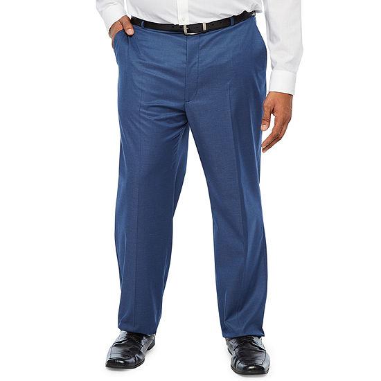 JF J.Ferrar Ultra Comfort Mens Stretch Slim Fit Suit Pants - Big and Tall