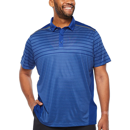 Msx By Michael Strahan Mens Short Sleeve Polo Shirt - Big and Tall